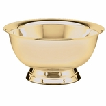 12 PAUL REVERE CANDY/FRUIT GOLD BOWL, BRIGHT POLISHED