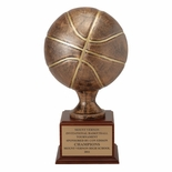 16 INCH RESIN BASKETBALLTROPHY