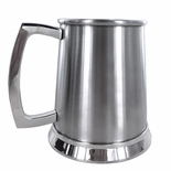 16 OUNCE DOUBLE WALL STAINLESS STEEL TANKARD