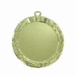 2-1/2 INCH DIE CAST BRIGHT GOLD MEDAL FRAME HOLDS 2 INCH INSERT