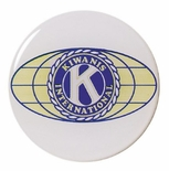 2 INCH KIWANIS INTERNATIONAL MYLAR WITH CLEAR EPOXY DOME