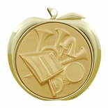 MUSIC BAND APPLE MEDAL - GOLD, SILVER OR BRONZE
