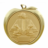 READING APPLE MEDAL - GOLD, SILVER OR BRONZE