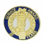 20 YEARS OF SERVICE AWARD PIN