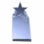 7 X 3-1/2 INCH OPTICAL CRYSTAL TOWER STAR AWARD