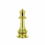 3 3/4 GOLD PLASTIC CHESS KING FIGURE