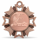 3-POSITION SHOOTING MEDAL, BRONZE