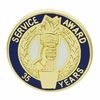 35 Years Of Service Award Pin