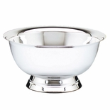 4 PAUL REVERE STAINLESS STEEL BOWL, CANDY/FRUIT BOWL BRIGHT POLISHED