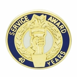 40 YEARS OF SERVICE AWARD PIN