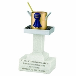 6-1/2 X 3-5/8 INCH CHILI RESIN TROPHY