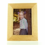 6-1/2 X 8-1/2 INCH ADLERWOOD PICTURE FRAME, HOLDS 4 X 6 INCH PHOTO
