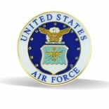 UNITED AIR FORCE LAPEL PIN