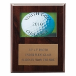 7 X 9 INCH PHOTO PLAQUE HOLDS 3-1/2X5 PHOTO