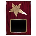 8 X 10 INCH MEDIUM SIZE MODERN STAR PLAQUE