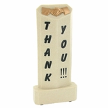 8 X 3 INCH THANK YOU RESIN TROPHY