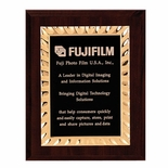 8 X 10 INCH WALNUT PLAQUE FRAME