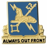 ALWAYS OUT FRONT INSIGNIA