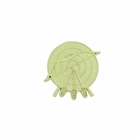 ARCHERY CHENILLE PIN GOLD