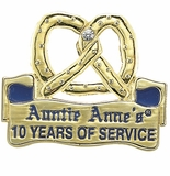 AUNTIE ANNE'S YEARS OF SERVICE PIN