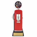 10-1/4 INCH AUTO RACING INSERT FULL COLOR GAS PUMP RESIN TROPHY