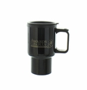 BLACK TRAVEL MUG 16OZ