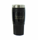 BLACK TRAVEL MUG SCREW ON TOP 16OZ