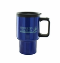 BLUE TRAVEL MUG 16OZ