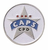 CAPS STAR PIN