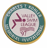 CHARLES T. KOHLER MEMORIAL INVITATIONAL SWIM PIN