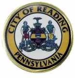 CITY OF READING PENNSYLVANIA PIN