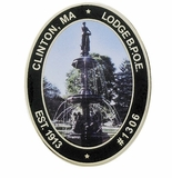 CLINTON, MA LODGE B.P.O.E. PIN