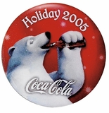 COCA-COLA HOLIDAY PIN