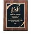 Corporate Award Plaques with Silkscreened Plates