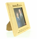 Corporate Awards Wood Picture Frames