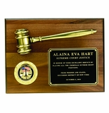 Corporate Gavel, Key, Shovel, Rising Stars Award Plaques