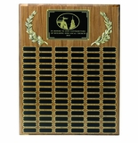 Corporate Perpetual Recognition Plaques Multiple Plates