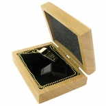 DELUXE GOLD WHISTLE GIFT SET IN A GENUINE OAK BOX