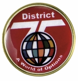 DISTRICT 75 A WORLD OF OPTIONS PIN
