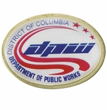 DISTRICT OF COLUMBIA DEPARTMENT OF PUBLIK WORKS PIN
