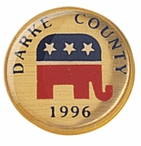 DRAKE COUNTY REPUBLICAN PIN