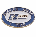 E-Z YEARS OF SERVICE PIN
