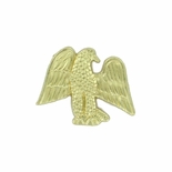 EAGLE CHENILLE PIN GOLD