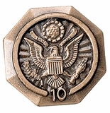 FEDERAL GOVERNMENT YEARS OF SERVICE PIN