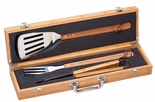 GENUINE BAMBOO BARBECUE GIFT SET BOX