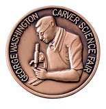 GEORGE WASHINGTON CARVER SCIENCE FAIR PIN
