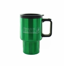 GREEN TRAVEL MUG 16OZ