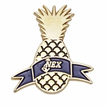 HAWAII PINEAPPLE NAVY EXCHANGE PIN