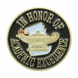 HONOR ACADEMIC EXCELLENCE PIN