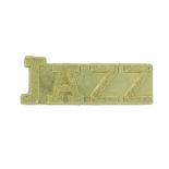 JAZZ CHENILLE PIN GOLD